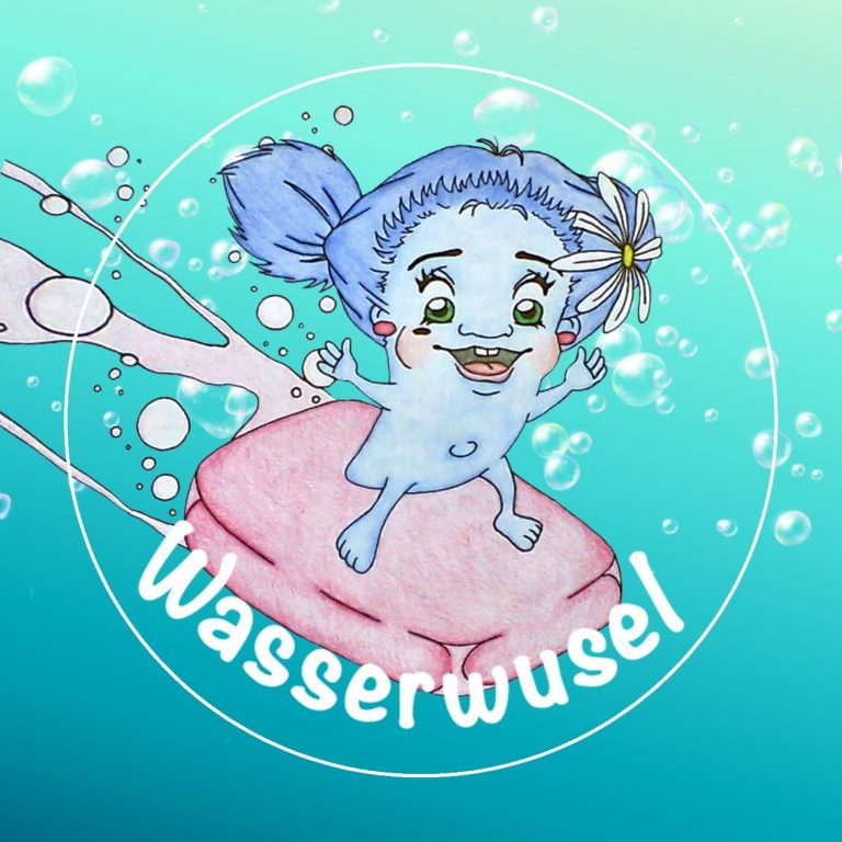 Wasserwusel-Sticker
